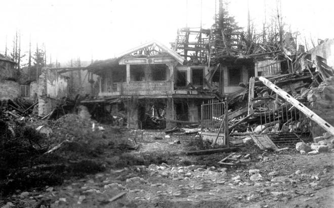 Les Bains de WATTWILLER bombardés