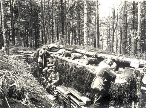 Faction tranchée allemande