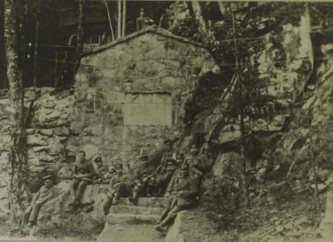 Hanseatenstein 1916