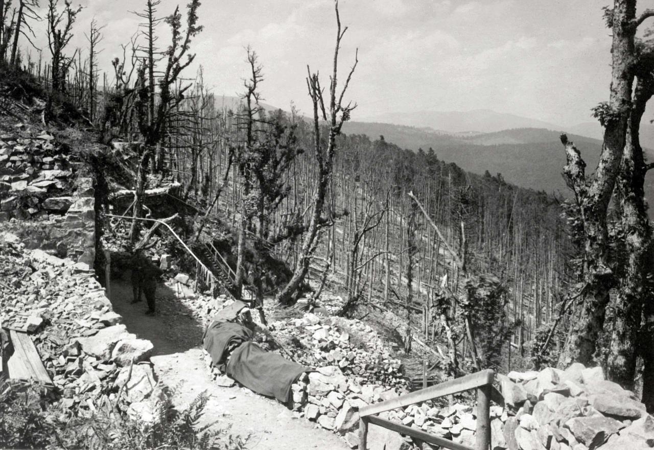 Versant Est HWK été 1915