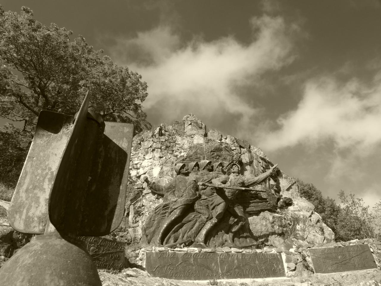 Le monument du 152ème Régiment d'Infanterie