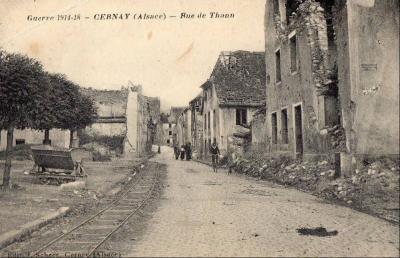 Cernay rue de thann a hauteur eglise