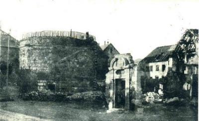Cernay tour medievale