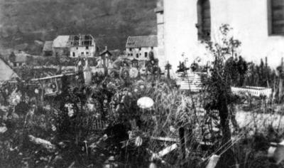 Cimetiere & église Goldbach