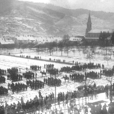 Inhumation Général Serret Moosch