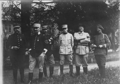 Groupe officiers etat major willer