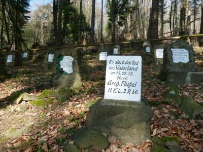 Tombes du cimetière des Uhlans