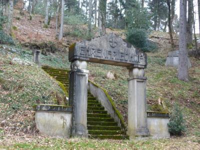 Portique Ehrenfriedhof