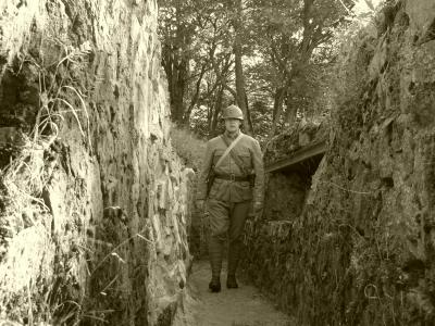 Vers la roche Sermet