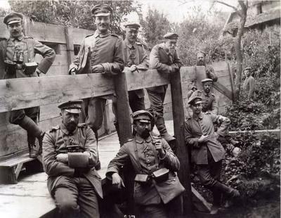 Pont fortifie petite doller abords aspach le bas juin 1915 2eme cie lir 119