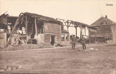 Ruines a cernay