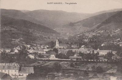 St amarin en 1917