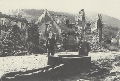 Steinbach 02 03 1916 abreuvoir grand rue