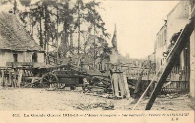 Steinbach barricades