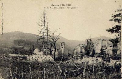 Steinbach eglise en ruines