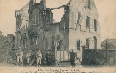 Steinbach maison detruite