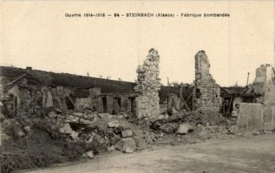 Steinbach usine detruite