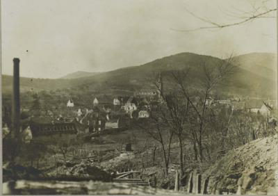 Village tranchee 02 mars 1916