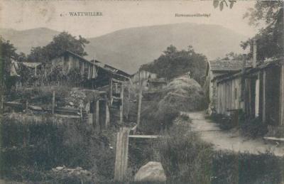 Wattwiller maisons abris