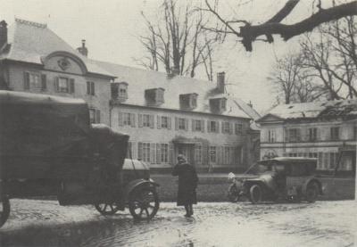 Wesserling 24 12 1915 chateau gros roman qg 66 di